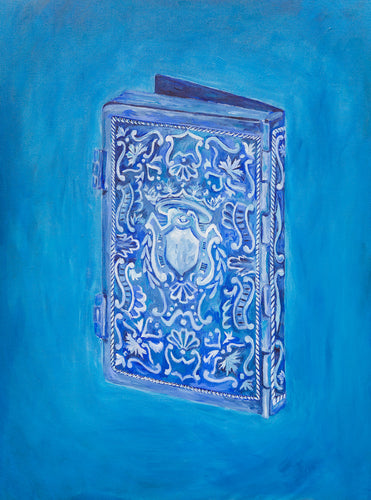 Blue Siddur / Original Painting