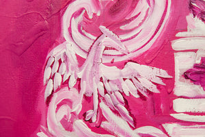 Pink Shield / Original Painting