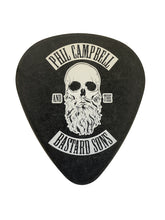 Black Oversized Plectrum Coaster - HAND SIGNED