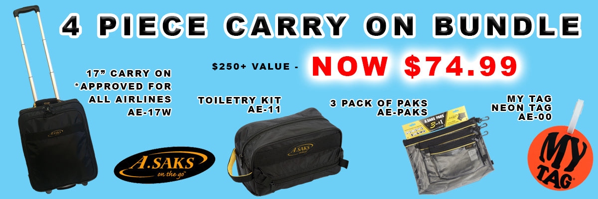 Asaks carry on bundle package