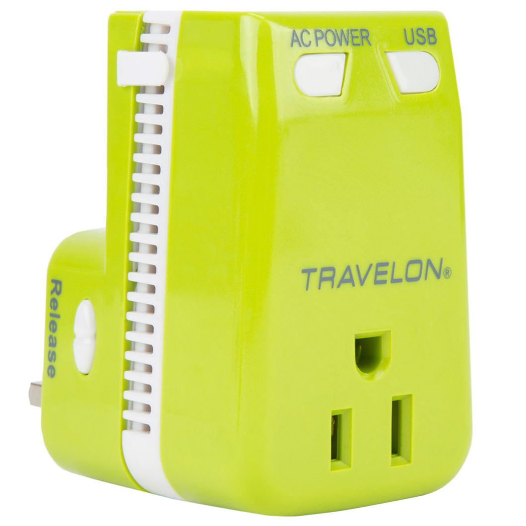 Travelon Travel Accessories Universal 3-in-1 Adapter, Converter, and USB Charger - Lexington Luggage