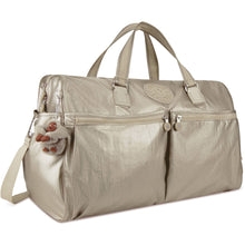 Kipling Itska Metallic Duffel Bag - Lexington Luggage