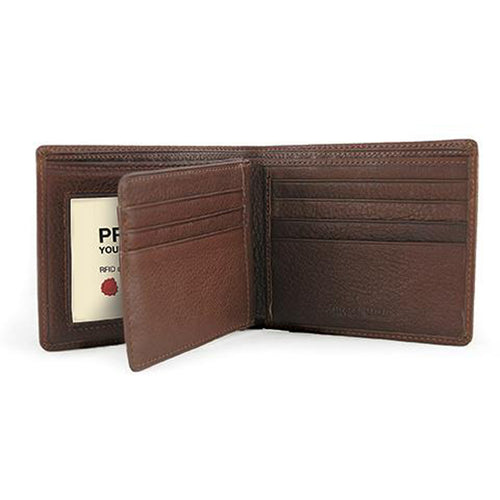 Osgoode Marley RFID Extra Page Bill Fold Wallet - Lexington Luggage