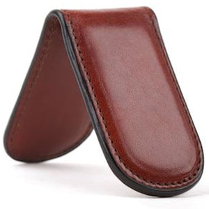 Bosca Old Leather Money Clip - Lexington Luggage