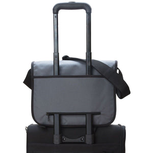 Manhattan Portage Europa (Md) with Back Zipper and Compartments - Lexington Luggage