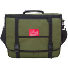 Manhattan Portage The Wallstreeter With Back Zipper - Lexington Luggage