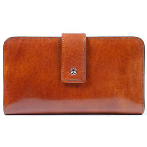 Bosca Old Leather Checkbook Clutch - Lexington Luggage