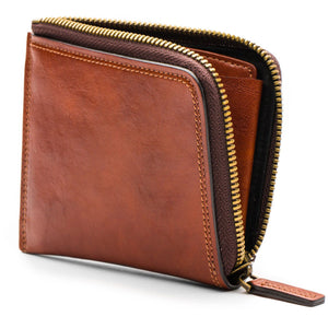 Bosca Dolce Euro Zip Wallet - RFID - Lexington Luggage