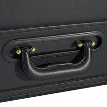 Heritage Vinyl Catalog Case with Secure Combo Locks - Lexington Luggage