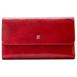 Bosca Old Leather Large Checkbook Clutch - Lexington Luggage