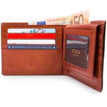 Bosca Dolce Euro Credit Wallet w/ID Passcase - RFID - Lexington Luggage