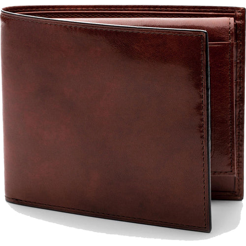 Bosca Old Leather Euro Credit Wallet w/ID Passcase - RFID - Lexington Luggage