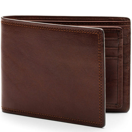 Bosca Dolce Euro 8 Pocket Deluxe Executive Wallet w/Passcase - Lexington Luggage