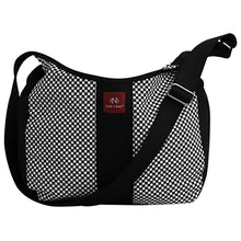 Bark N Bag Checkerbarc Hand Loomed Cotton Canvas Sling - Lexington Luggage