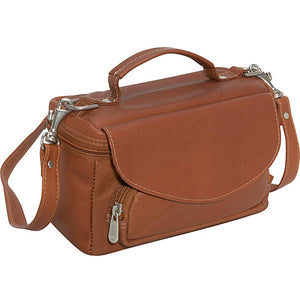 Piel Leather Travel Deluxe Carry All Camera Bag - Lexington Luggage