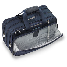 Briggs & Riley Baseline Navy Expandable Cabin Bag - Lexington Luggage