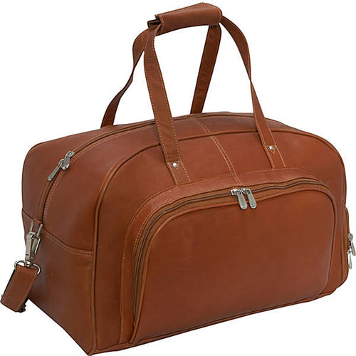 Piel Leather Travel Deluxe Carry On Duffel - Lexington Luggage