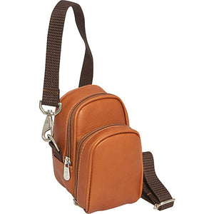 Piel Leather Travel Camera Bag - Lexington Luggage