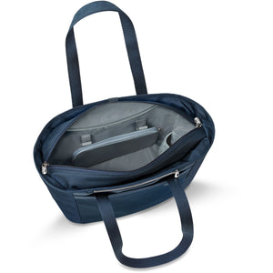 Briggs & Riley Baseline Navy Large Shopping Tote - Lexington Luggage