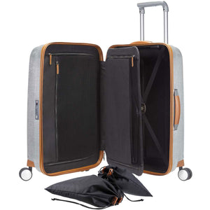 "Samsonite Black Label Lite-Cube DLX 20"" Spinner - Lexington Luggage"