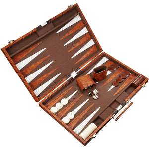"CHH Games 15"" Vinyl Backgammon Set - Lexington Luggage"