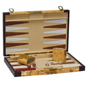 "CHH Games 15"" Map Backgammon Set - Lexington Luggage"