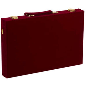 "CHH Games 18"" Velvet Backgammon Set - Lexington Luggage"