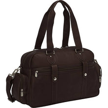 Piel Leather Travel Adventurer Carry On Satchel - Lexington Luggage