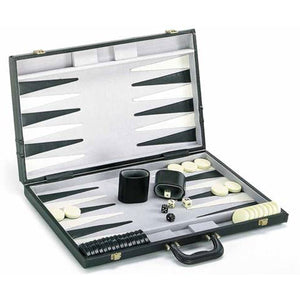 "CHH Games 21"" Deluxe Backgammon Set - Lexington Luggage"