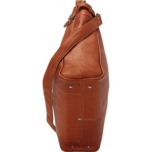 Piel Leather Travel Cross Body Traveler Tote - Lexington Luggage