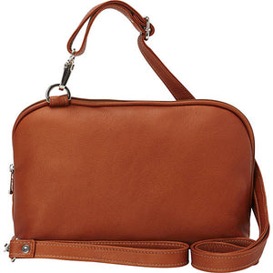 Piel Leather Travel Cross Body Carry All - Lexington Luggage