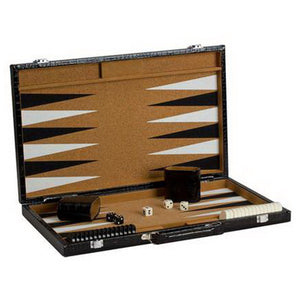 "CHH Games 15"" Cork Backgammon Set - Lexington Luggage"