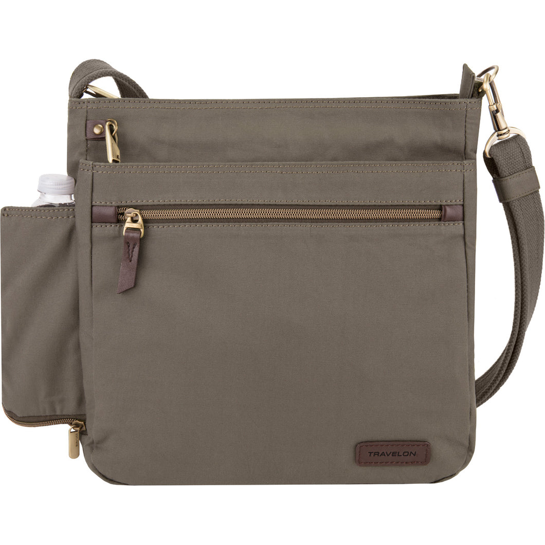 Travelon Anti-Theft Courier N/S Crossbody - Lexington Luggage
