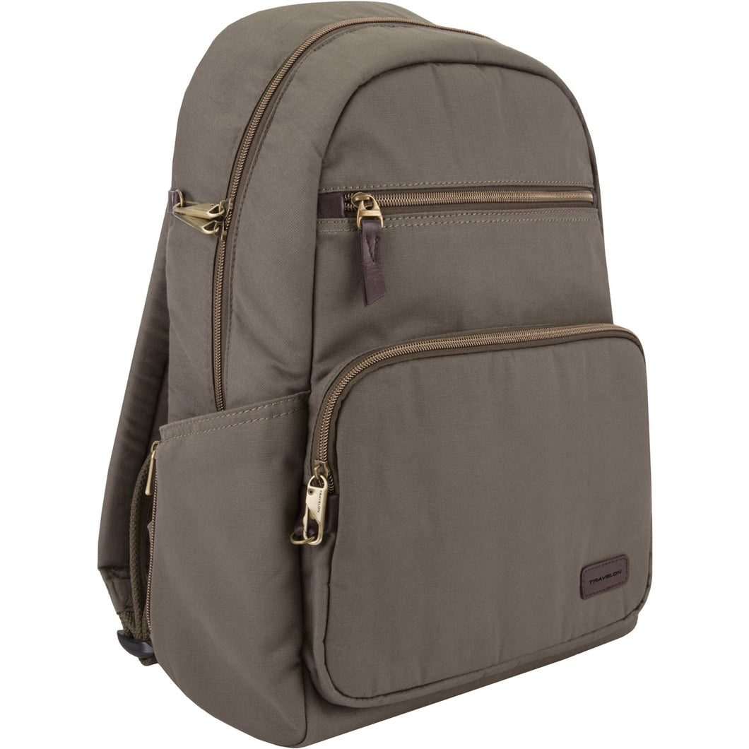 Travelon Anti-Theft Courier Slim Backpack - Lexington Luggage