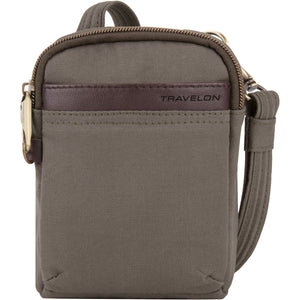 Travelon Anti-Theft Courier Mini Crossbody - Lexington Luggage