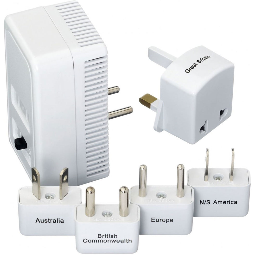 Design Go Worldwide Adapter Kit + Converter - Lexington Luggage