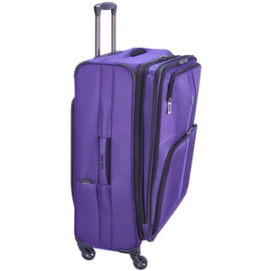 "Delsey Sky Max 25"" Expandable Spinner Upright - Lexington Luggage"