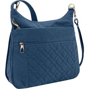 Travelon Anti-Theft Signature Quilted Expansion Crossbody - Lexington Luggage