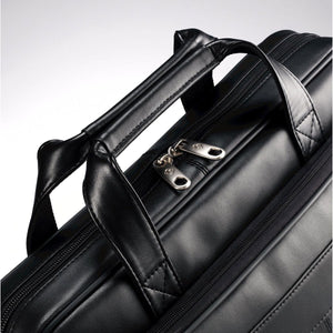 Samsonite Leather Business Cases Leather Slim Brief - Lexington Luggage
