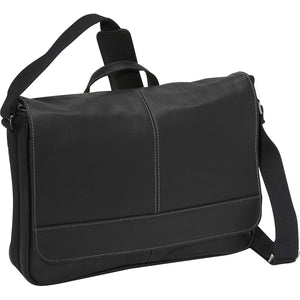 "Kenneth Cole ""Risky Business"" Single Comp Slim Flapover Messenger - Lexington Luggage"