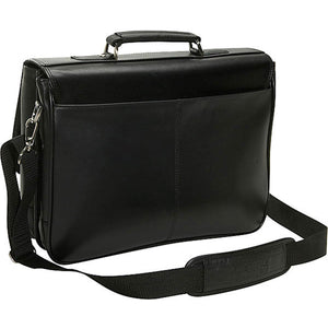 "Kenneth Cole ""A Brief History"" Tucklock Flapover Portfolio - Lexington Luggage"