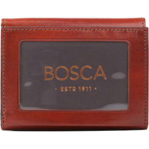 Bosca Old Leather Double ID Trifold - RFID - Lexington Luggage