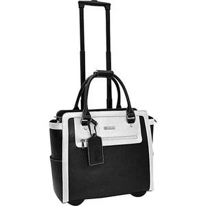 Cabrelli Fashion Executive Talula Two Tone Rollerbrief - Lexington Luggage