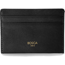Bosca Washed Deluxe Front Pocket Wallet - Lexington Luggage