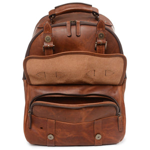 Korchmar Legacy Collection Lewis Classic Leather Backpack - Lexington Luggage