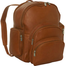 Piel Leather Travel Expandable Backpack - Lexington Luggage
