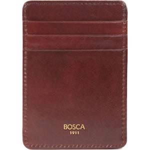 Bosca Old Leather Front Pocket Wallet - RFID - Lexington Luggage