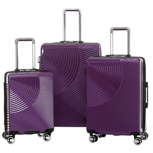 Solite Savona Hardside Spinner 3 Piece Luggage Set - Lexington Luggage