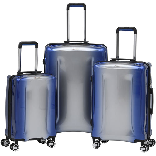 Solite Aurano Expandable Hardside 3 Piece Spinner Set - Lexington Luggage
