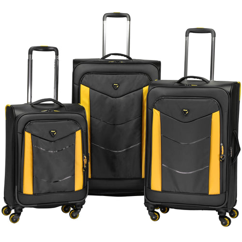 Verage Wayfarer 3 Piece Expandable Spinner Luggage Set - Lexington Luggage